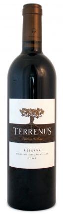 Terrenus  'Reserva' Vinhas Velhas   Tinto Disponível em www.estadoliquido.pt