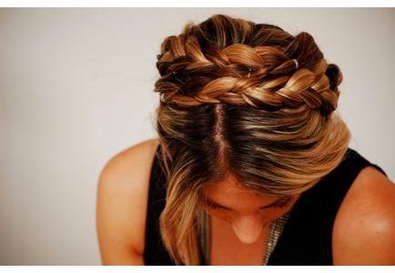 Tutorial - penteado com trança