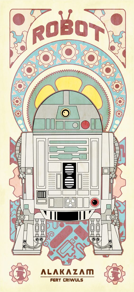 R2        Vintage Robot   by  fery criwuls