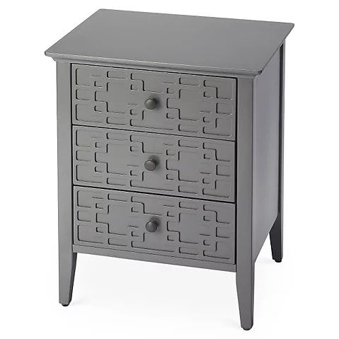 Julia Nightstand, Gray $159.00