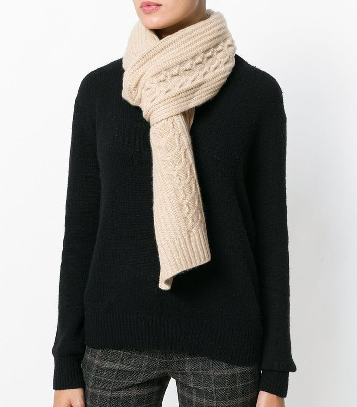 19 Chunky Knit Scarves for Every Budget