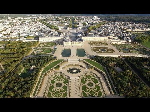 Survolez Versailles, un trésor du patrimoine français   Daily Geek Show