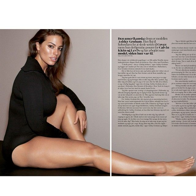 Ashley Graham. Love her on instagram!