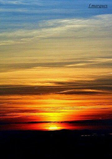 Pôr do sol no Alentejo