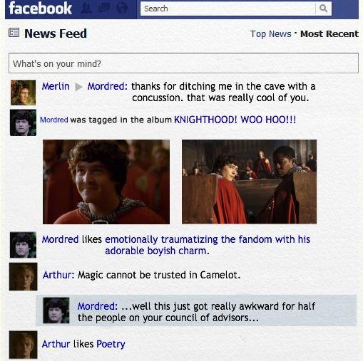 Merlin Season 5 by PheonixLight.deviantart.com on @deviantART Arthur likes poetry cracked me up!
