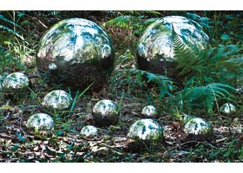 Stainless Steel Reflective Balls. Explore the world and encourage a sense of identity with these reflective stainless steel, metal balls. These silver coloured, metal balls are lightweight and rust resistant.