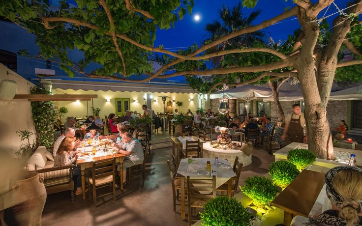 Alana Restaurant by night! #rethymno #alanareastaurant