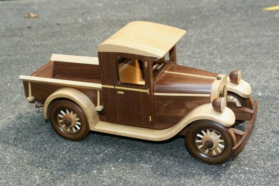 1928 Chevrolet pick up by gbtrains on Etsy