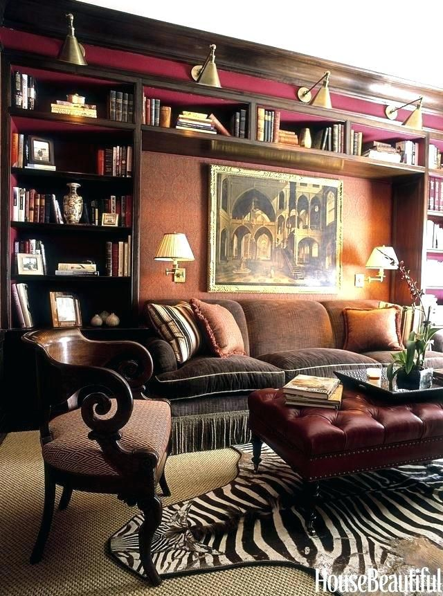 Home Library Decor Home Library Decor Home Library Design Ideas ...