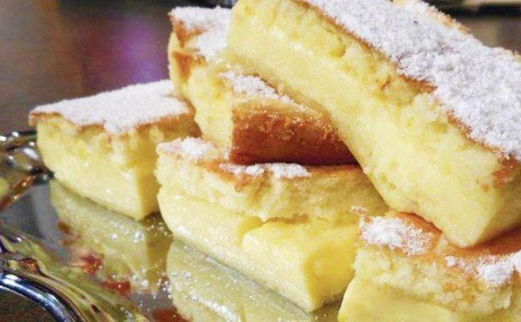 Prăjitură Deșteaptă: Desert din numai 5 ingrediente, rapid și bun!