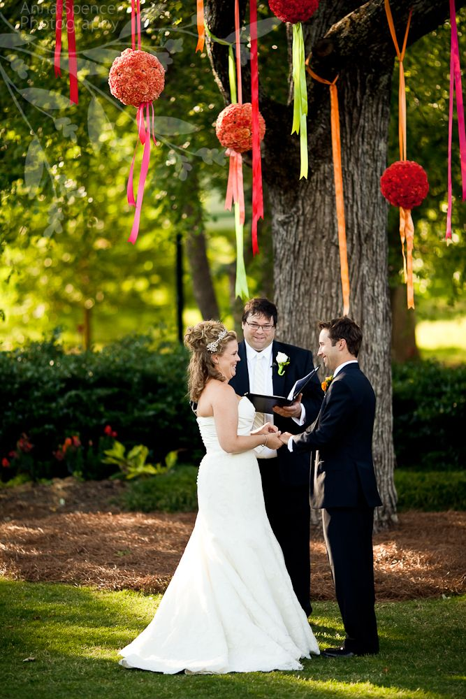 Anna and Spencer Photography Colorful Outdoor Wedding