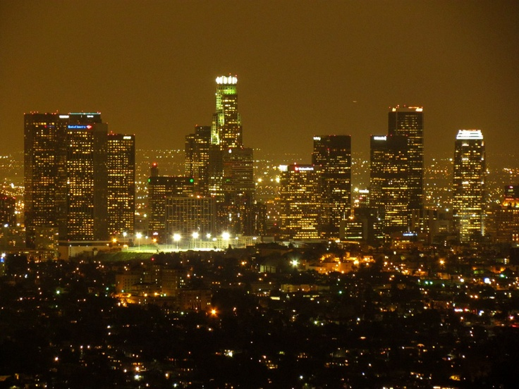 Magiczne Los Angeles nocą. Fot. radio RMF FM