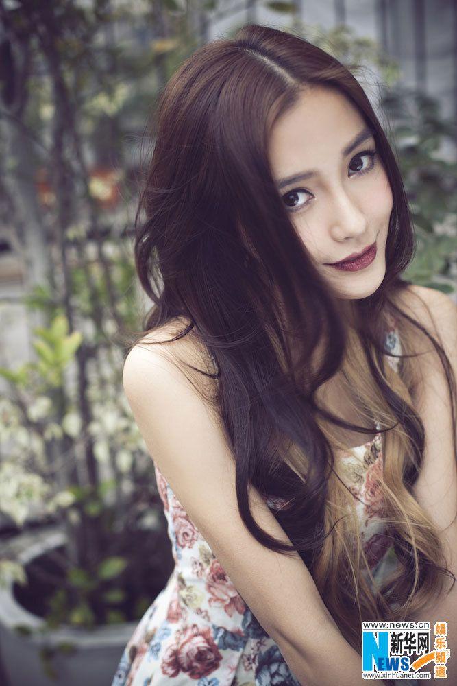 Hong Kong actress and model Angelababy