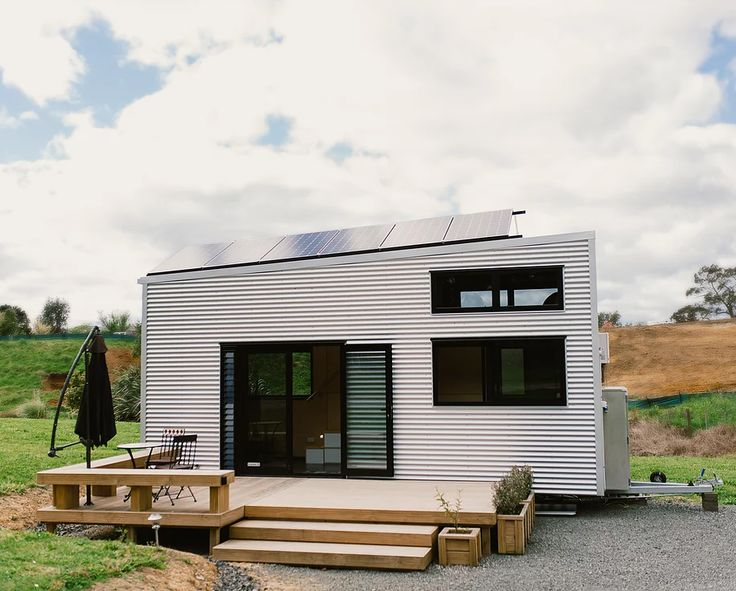 'A45', a tiny off-grid home designed by @big_builds @bjarkeingels & Soren Rose S ...