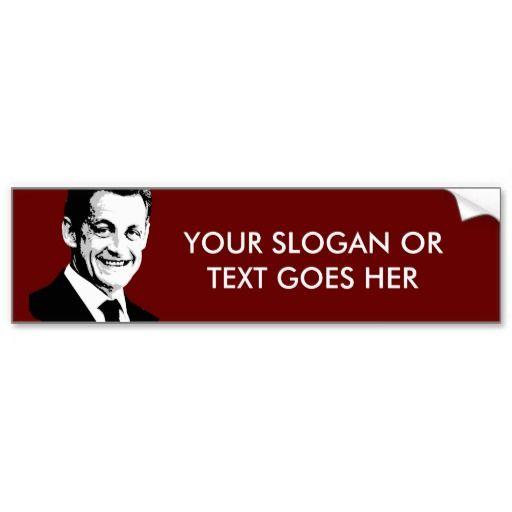Nicolas Sarkozy Bumper Stickers