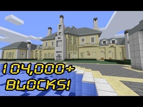 Massive Minecraft Mansion - 7 Montagel Way