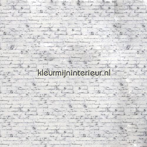 Baksteen wit-grijs 9078-37   New England AS Creation   kleurmijninterieur.nl