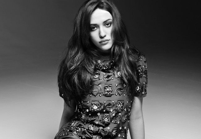 Kat Dennings.  She's hilarious and she rocks!