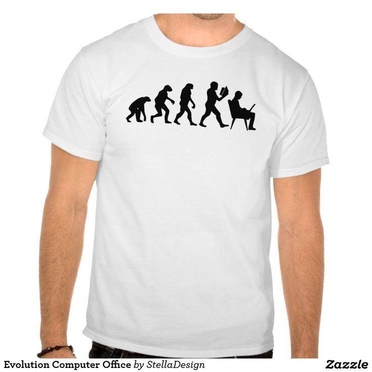 Evolution Computer Office T Shirts