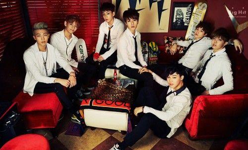 "BTS ""Skool Luv Affair""!"