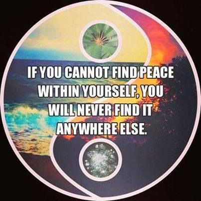 ☮ American Hippie Art Quotes ~ Peace ☮ Ying Yang