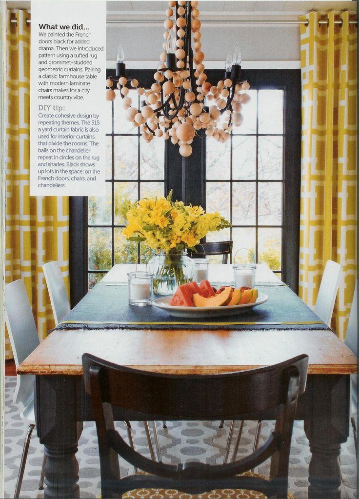 Wonderful Wood Bead Chandelier DIY Beaded In The Dining Room Ideas
