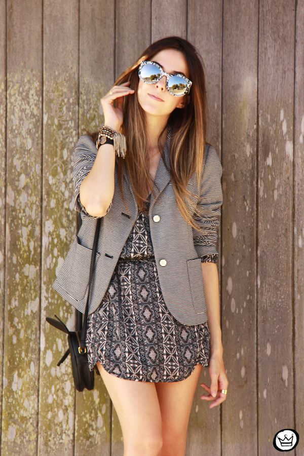 Fashion Coolture: Indie Womens Oversize Native Print Flash Revo Lens Round Sunglasses 9380