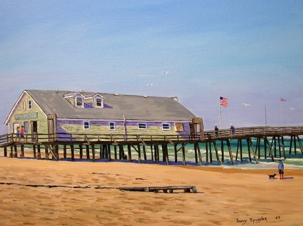 Avalon fishing pier outer banks nc for Nc fishing piers