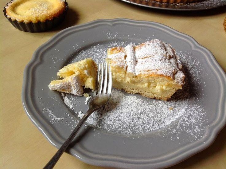 VÍKENDOVÉ PEČENÍ: Křehký tvarohový koláč