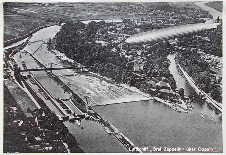 Sterowce nad Opolem, Opole - 1929 rok, stare zdjęcia