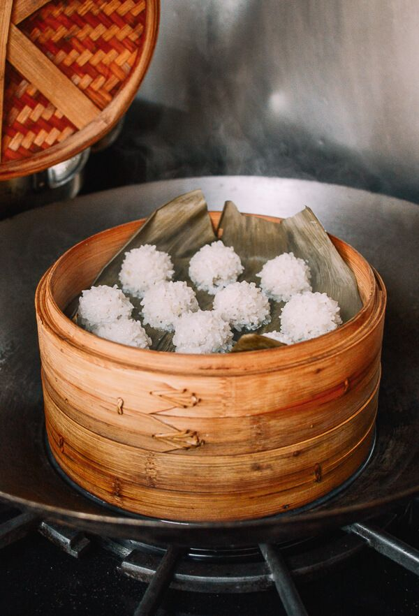 Chinese Pearl Meatballs With Sticky Rice 珍珠丸子 Recipe