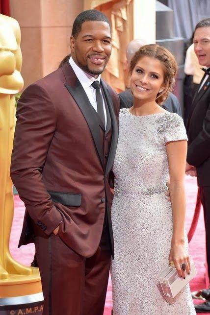 Michael Strahan y Maria Menounos  http://cuchurutu.blogspot.com.es/2014/03/ellos-y-parejas-en-oscars2014.html