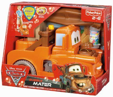 Fisher Price Disney Pixar Cars  Bubble Mater
