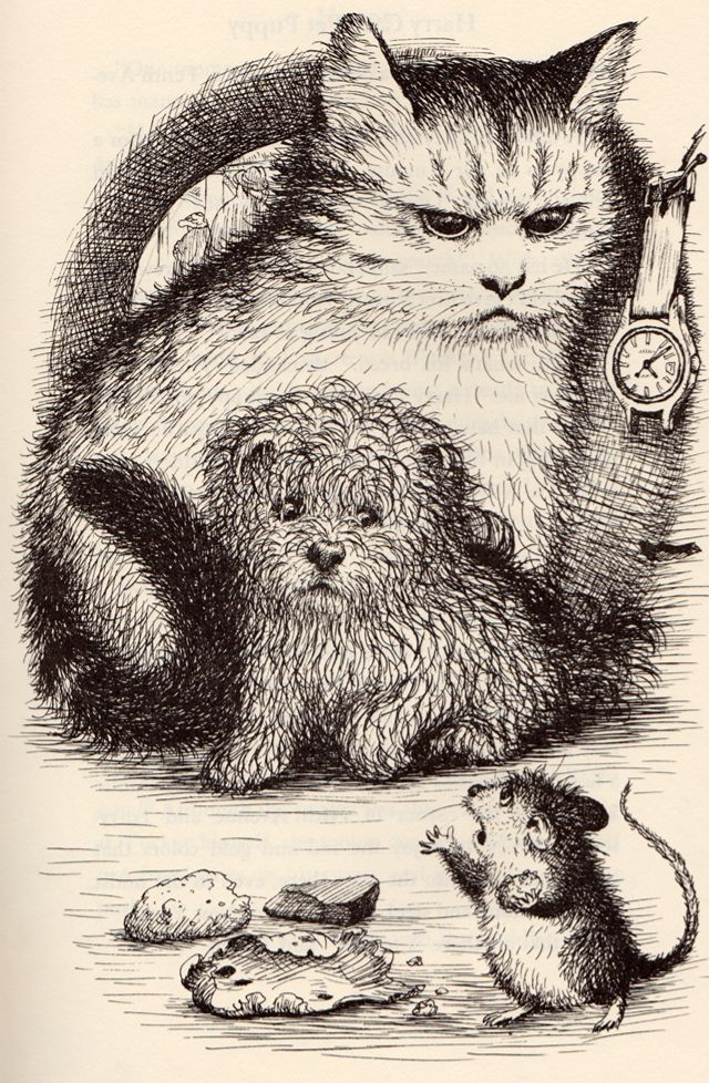 Harry Cats Pet Puppy by George Selden, illustrated by Garth Williams (1974).