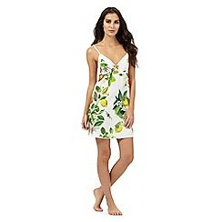 B by Ted Baker - White floral print chemise