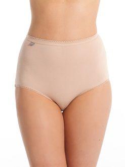 Lingerie-Culotte, shorty, string-Culotte taille haute-Lot de 3 culottes maxi + 1…