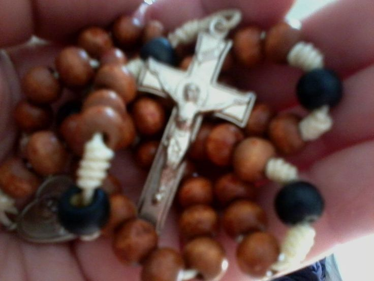 One Wooden Rosary For Sale