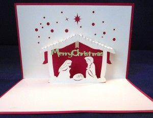 Pop Up Card Christmas Tree