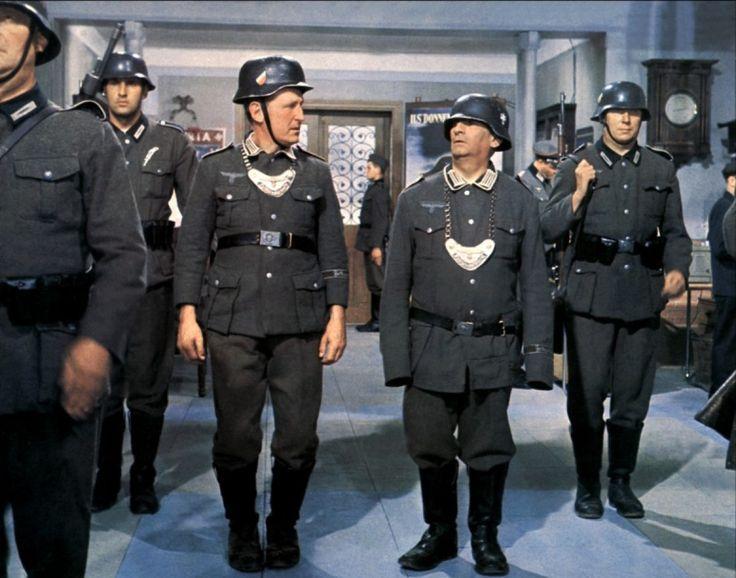 La grande vadrouille 1966 avec Bourvil et Louis de Funès.