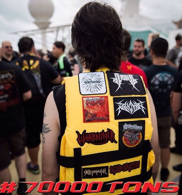 When you wanna stay safe but also metal. #battlevest #70000tons
