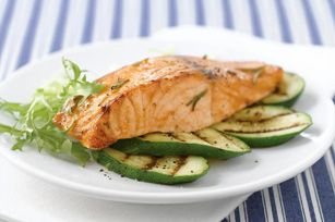 Rosemary Barbecued Salmon Fillet Recipe - Kraft Canada