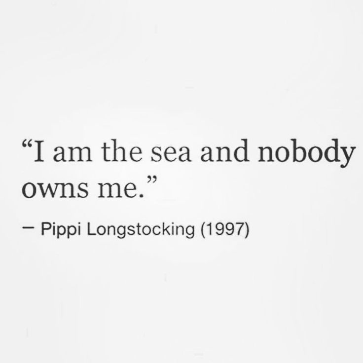 I am the sea and nobody owns me.