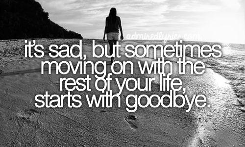 Starts With Goodbye | Carrie Underwood