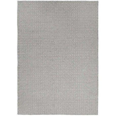 Modern vloerkleed Emporium Light Blue van 100% wol met geweven print. Verkrijgbaar in charcoal en zacht grijs en twee verschillende formaten. #vloerkledenloods #modern #rug #home #interiordesign #carpet #vloerkleed