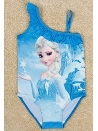 cheap Frozen Princess Elsa Blue Swimsuit