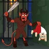 NEW AMERICAN DAD PROMOTES THE OCCULT... TEACHING ABOUT KRAMPUS