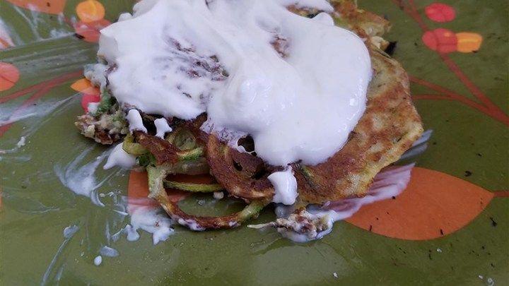 Low Carb Zucchini Pancakes