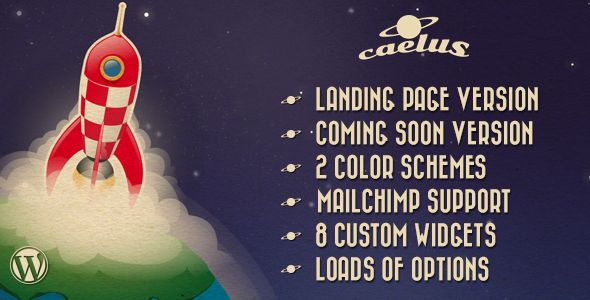 See More Caelus - App Landing & Coming Soon WP Theme you will get best price offer lowest prices or diccount coupone