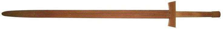 Amazon.com : BladesUSA 1608 Martial Art Hardwood Long Sword Training Equipment 38.5-Inch : Wood Training Sword : Sports & Outdoors