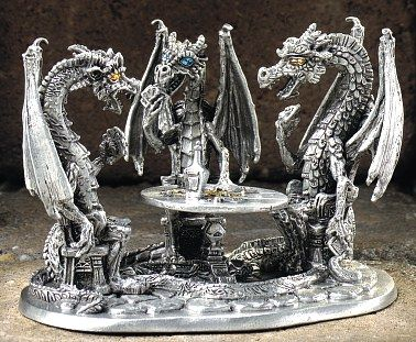 17 best images about something i like to collect on pinterest pewter chinese dragon and - Pewter dragon statues ...